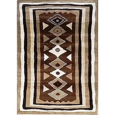 Bloomsbury Market Shuntae Brown Area Rug; 7'11'' x 9'10''