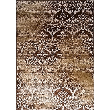Bungalow Rose Abrahamsville Brown Area Rug; 7'11'' x 9'10''