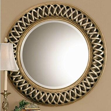 Astoria Grand Bambridge Round Plastic Wall Mirror