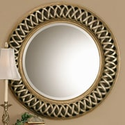 Astoria Grand Bambridge Round Plastic Wall Mirror