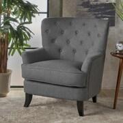 Charlton Home Amini Club Chair; Charcoal
