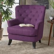 Charlton Home Amini Club Chair; Purple
