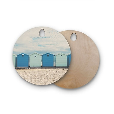 East Urban Home Laura Evans Birchwood All the Photography Cutting Board; Circle