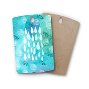 East Urban Home Li Zamperini Birchwood Rain Cutting Board; Rectangle