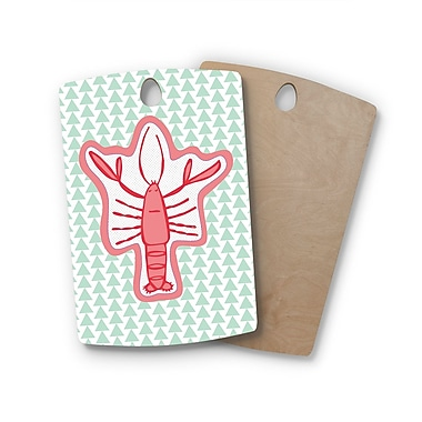 East Urban Home MaJoBV Birchwood Langosta Lobster Cutting Board; Rectangle