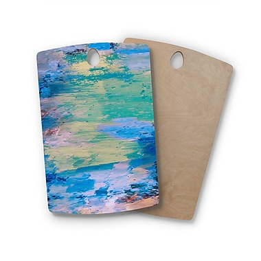 East Urban Home Nina May Birchwood Mineral Surf Cutting Board; Rectangle