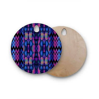 East Urban Home Nina May Birchwood Skya Cutting Board; Round