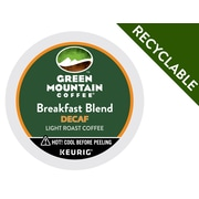 Keurig® K-Cup® Green Mountain Coffee® Breakfast Blend Decaffeinated Coffee, 24 Count