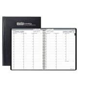 2018 House of Doolittle 8.5 x 11 Professional Weekly Planner Hard Cover Black (272-92)