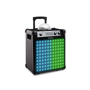 Ion Audio Party Rocker Max Wireless Rechargeable Speaker with Multi-Effect Party Lights (IPA73P)