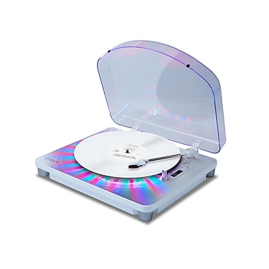 Ion Audio Photon LP Multi-Color Lighted Turntable with USB Conversion (IT70)