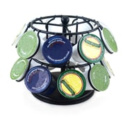 The Storage House Mini K-Cup Coffee Carousel Organizer, 18 K-Cups