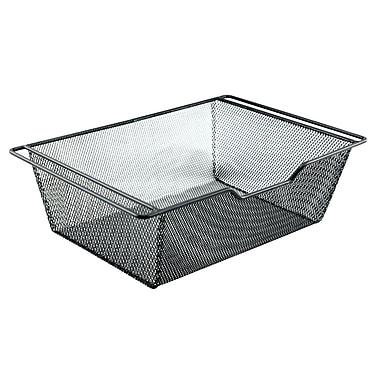 The Storage House - Tiroir sous armoire pour dosettes de café, 48 dosettes K-Cup, 66 x 23 cm, noir