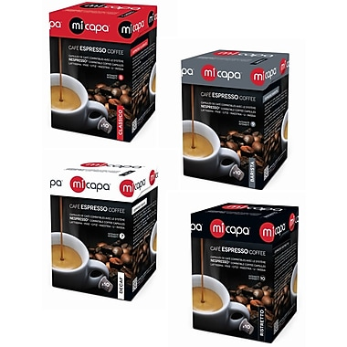 Micapa – Assortiment, gamme originale Nespresso, paq./60