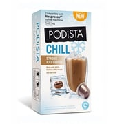 PODiSTA Iced Coffee Strong, Nespresso Original Line, 10/Pack