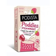 PODiSTA Poddies Sugar Free Strawberry, Nespresso Original Line, 10/Pack