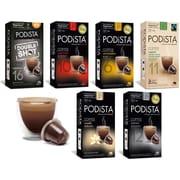 PODiSTA Espresso Variety Pack, Nespresso Original Line, 60/Pack