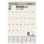 "2018 AT-A-GLANCE® Monthly Wall Calendar, Recycled, January 2018-December 2018, 15-1/2""x22-3/4"" (PM3G-28-18)"