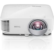 BenQ MW826ST 3D Ready Short Throw DLP Projector, 720p, HDTV, 16:10 (MW826ST)