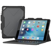 "ZAGG Rugged Messenger Keyboard/Cover Case (Folio) for 10.5"" iPad Pro, Black (ID9RMK-BB0)"