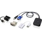 IOGEAR Portable Laptop Console Crash Cart Adapter IT Kit (TAA Compliant) (GUC211VKIT)