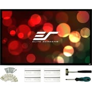 """Elite Screens ezFrame 2 R125WX2 Fixed Frame Projection Screen, 125"""", 16:10, Wall Mount (R125WX2)"""