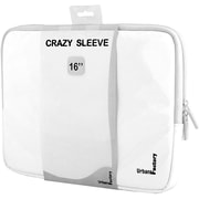 """Urban Factory MSC15UF Carrying Case (Sleeve) for 16"""" Notebook, White (MSC15UF)"""