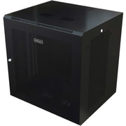 StarTech.com 9U Wall Mount Server Rack Cabinet, Wall Mount Network Cabinet, Up to 20.8 in. Deep (RK920WALM)