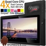 """Zeepad 7DRK-Q Tablet, 7"""", 512 MB DDR3 SDRAM, Allwinner Cortex A7 A33 Quad-core (4 Core), 4 GB, Android 4.4.2 KitKat, 1280 x 800"""