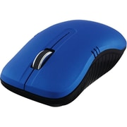 Verbatim Wireless Notebook Optical Mouse, Commuter Series, Matte Blue (99766)