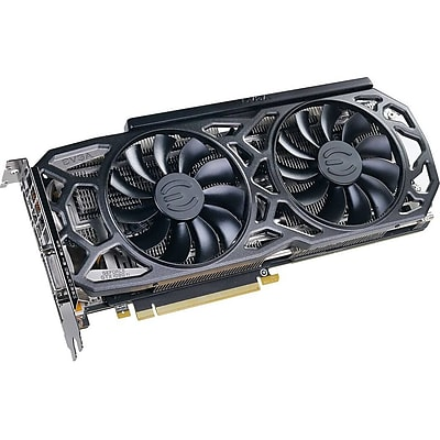 EVGA GeForce GTX 1080 Ti Graphic Card, 1.48GHZ Core, 1.58GHZ Boost Clock, 11GB GDDR5X, Dual Slot Space Required (11G-P4-6391-KR)