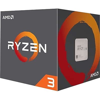 AMD Ryzen 3 1200 Quad-core (4 Core) 3.10 GHz Processor, Socket AM4Retail Pack (YD1200BBAEBOX)