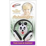 Ergoguys Califone Kids Stereo/PC Headphone Panda 3.5mm Plug (2810-pa)