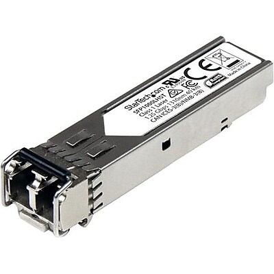 StarTech MSA Compliant 1000Base-LH SFP, Gigabit SFP Module, Single-mode SFP Transceiver, LC, 40 km (24.8 mi), 1310nm