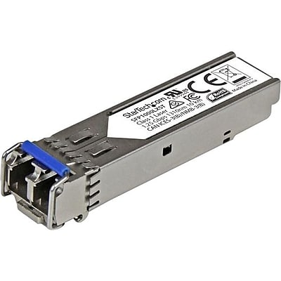 StarTech MSA Compliant 1000Base-LX SFP, Gigabit SFP Module, Single-mode SFP Transceiver, LC, 10 km (6.2 mi), 1310nm