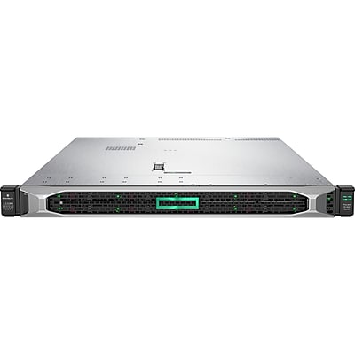 HP ProLiant DL360 G10 1U Rack Server, 1xIntel Xeon Gold 6132 Tetradeca-core 2.6GHZ, 32GB Installed DDR4 SDRAM, 12Gb/s Controller