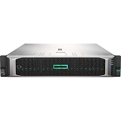 HP ProLiant DL380 G10 2U Rack Server, 2xIntel Xeon Gold 5118 Dodeca-core 2.3GHZ, 64GB Installed DDR4 SDRAM, 12Gb/s Controller