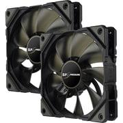 Enermax UCDFP12P Cooling Fan, Case, Twin Pack (UCDFP12P-T)