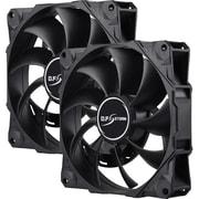 Enermax D.F. STORM UCDFS12P Cooling Fan, Case, Twin Pack (UCDFS12P-T)