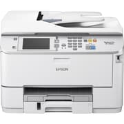 Epson WorkForce Pro WF-M5694 Inkjet Multifunction Printer, Monochrome, Plain Paper Print, Desktop (C11CE37201-NA)
