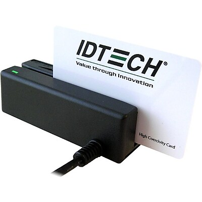 ID TECH MiniMag II Compact Intelligent MagStripe Reader (DEL3331-33UB)