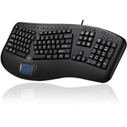 Adesso Tru-Form 450, Ergonomic Touchpad Keyboard (AKB-450UB)
