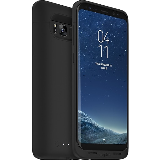 the best attitude 0b27a c337c mophie Juice Pack Black Battery Case for Samsung Galaxy S8 (3993)