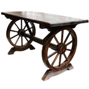 Gracie Oaks Ravius Wooden Bar Table
