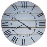 Gracie Oaks Nahush Oversized Wall Clock; 50'' H x 50'' W  x 2'' D