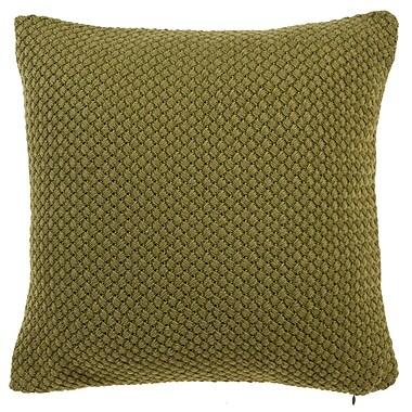 Gracie Oaks Shant Throw Pillow; Moss