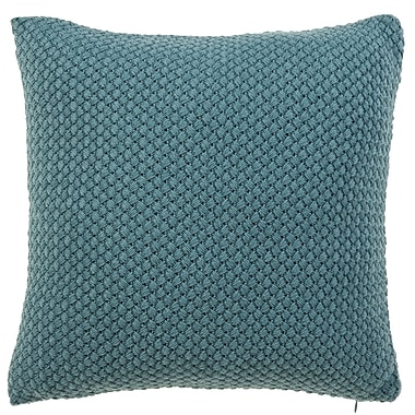 Gracie Oaks Shant Throw Pillow; Harbor
