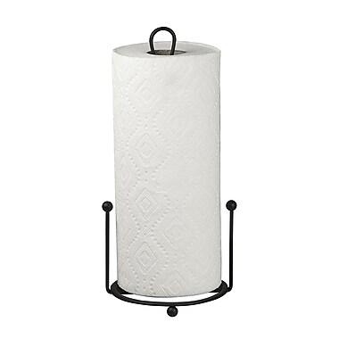 Fleur De Lis Living Free-Standing Metal Paper Towel Holder