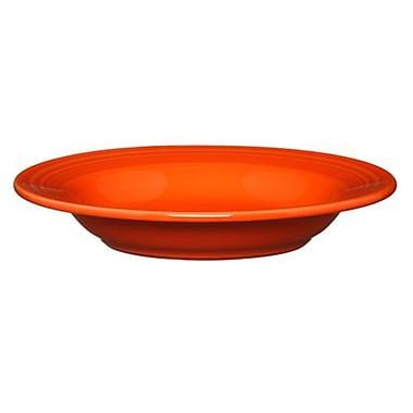 Fiesta 13 Oz. Rim Soup Bowl; Poppy