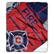 Northwest Co. MLS Chicago Fire Scramble Polyester Throw